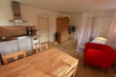 Appartement_Küche_Wohnbereich